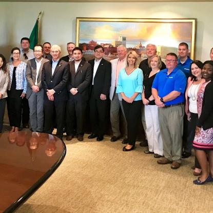 WTC Savannah Hosts Japan-America Society of Georgia