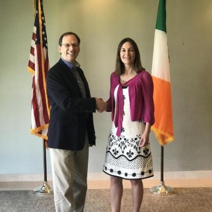 Savannah, Wexford trade program begins work